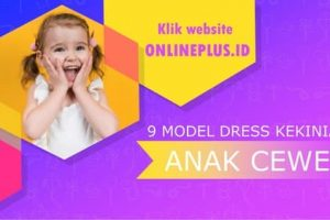 Model Dress Anak Perempuan